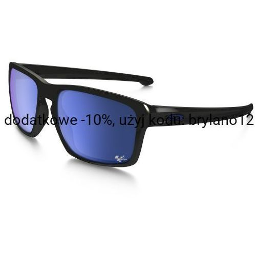 Oakley Okulary sliver moto gp polished black ice iridium oo9262-28