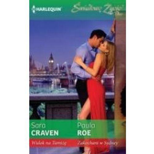 Widok na Tamizę, Zakochani w Sydney - Sara Craven, Paula Roe, oprawa broszurowa