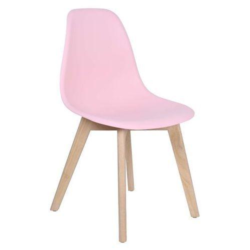 Krzesło asti dsw różowe marki Ehokery.pl