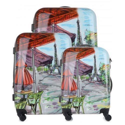 ec31e6a843c9d Zestaw walizek paris 3w1 z możliwością p... Producent Madisson; Rodzaj  produktu walizka
