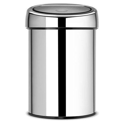 Kosz na śmieci 3 litry TOUCH BIN Brabantia stal matowa, 363986