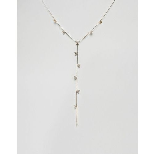 Liars & Lovers Gem Detail Necklace - Gold