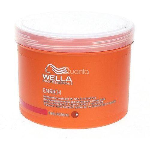 WELLA Enrich FINE/NORMAL - Maska do włosów normalnych i cienkich 500ml (4015600122645)