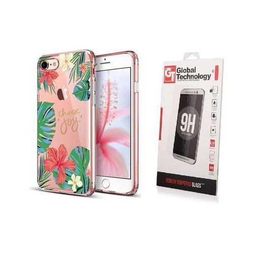 Zestaw | etui art case rose of sharon + szkło perfect glass - iphone 7 / 8 marki Esr