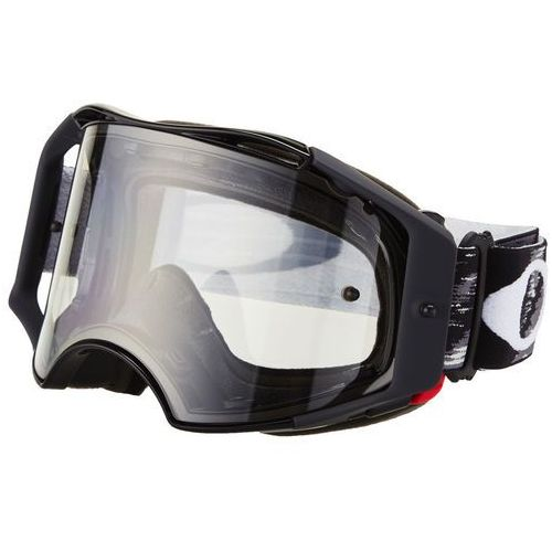 airbrake mx goggles, jet black speed/clear 2019 gogle marki Oakley
