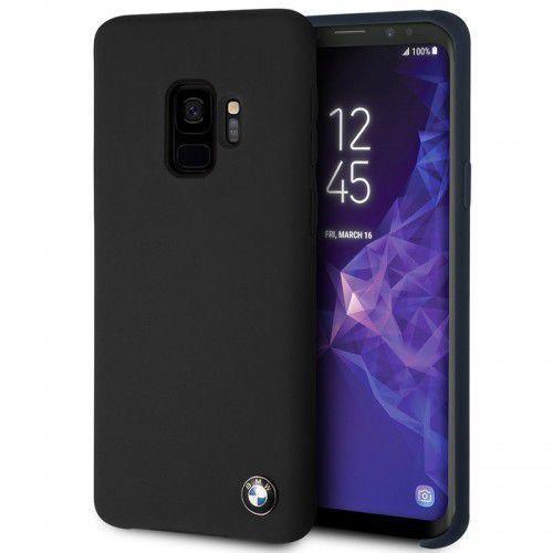 BMW Silicone Hard Case - Etui Samsung Galaxy S9 (czarny) (3700740426579)