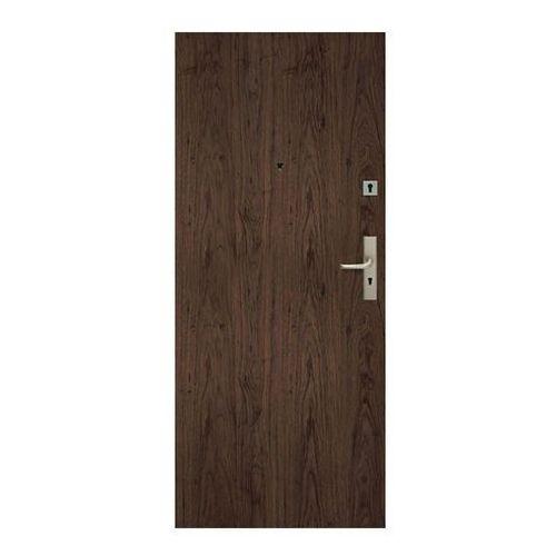 Drzwi pełne Dominos 90 lewe orzech naturalny (5902689035876)