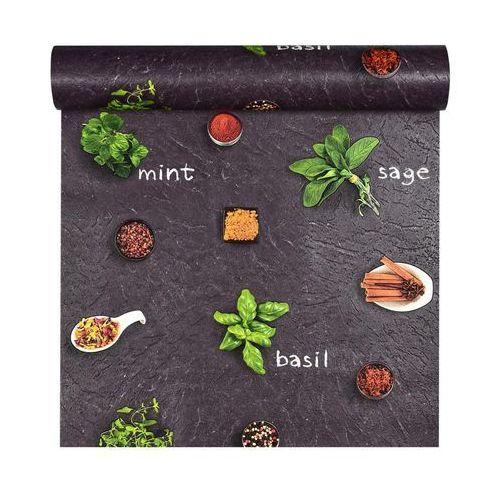Rasch Tapeta winylowa na papierze zioła 930900