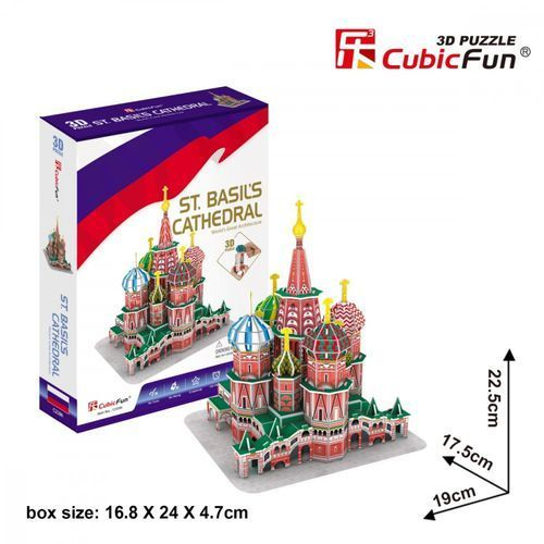Cubicfun Puzzle 3d katedra św. wasyla - cubic fun