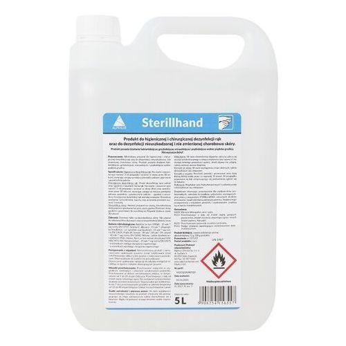 Płyn STERILLHAND do higienicznej oraz chirurgicznej dezynfekcji rąk, SterillHand