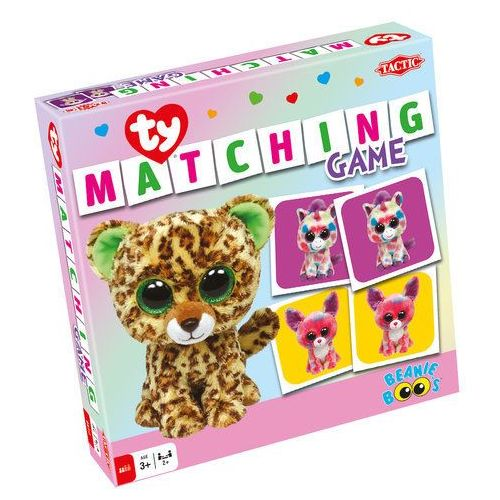 Tactic Ty beanie boos matching game (6416739532899)