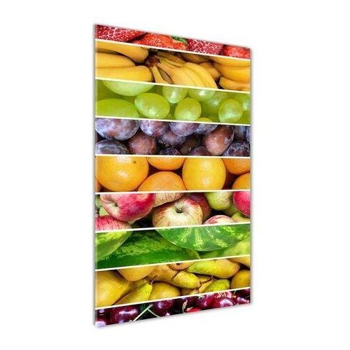 Wallmuralia.pl Foto obraz akryl do salonu kolorowe owoce