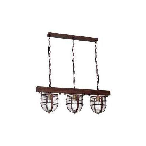 Lampa wisząca ANDER 3xE27/60W/230V ciemnobrązowa (5907565976205)