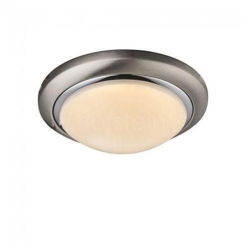 Globo lighting Globo lampa sufitowa led nikiel matowy, 1-punktowy - - obszar wewnętrzny - ina - czas dostawy: od 6-10 dni roboczych