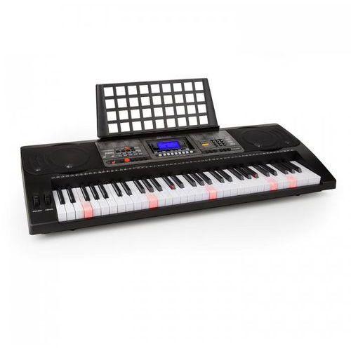 Etude 450 USB keyboard dla początkujących 61 klawiszy odtwarzacz USB-MIDI podświetlone klawisze czarny