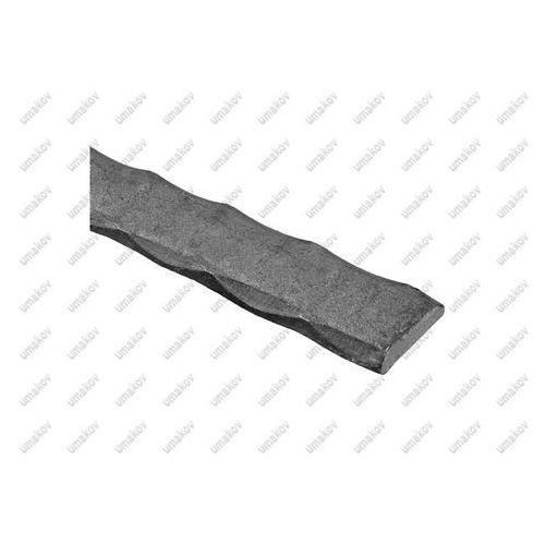 Plaskownik zdobiony a20, b5, L3000mm, (0,82 kg/m)