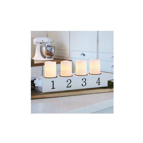 4-punktowy świecznik led amund wyprodukowany przez Markslöjd