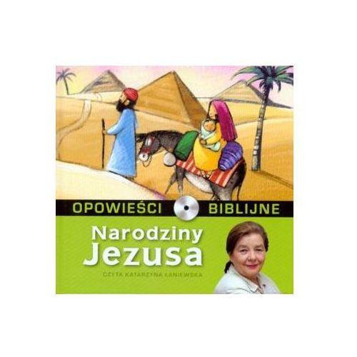 Opowieści biblijne - Tom 1 Narodziny Jezusa ( Książka + CD ) Praca zbiorowa (9788376751016)