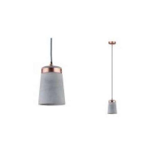 Oprawa wisząca neordic stig 1-lampa miedź / beton, 79617 marki Paulmann