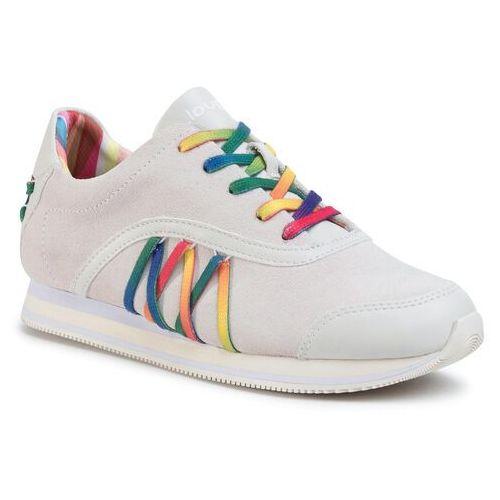 Sneakersy DESIGUAL - Shoes Corset Multicolor 20SSKL05 10000