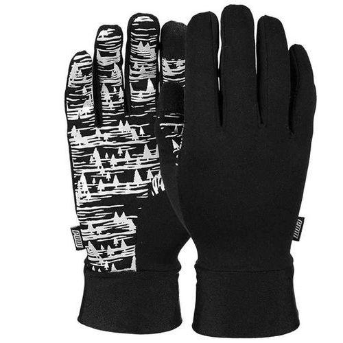 Rękawice snowboardow - poly pro tt liner white (short) (wh) rozmiar: s marki Pow