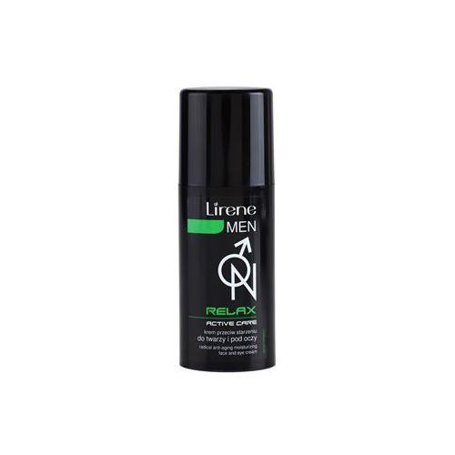 Lirene  men relax nawilżający krem przeciw starzeniu się skóry do twarzy i okolic oczu 50 ml