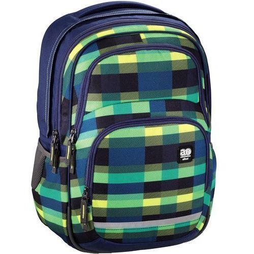 Hama Plecak szkolny blaby kolor: summer check green