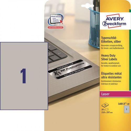 Etykiety do znakowania Avery Zweckform L6013, 190x135mm z kategorii Etykiety biurowe