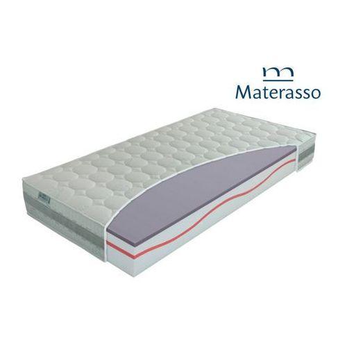 airgel – materac wysokoelastyczny, piankowy, rozmiar – 90×200 wyprzedaż, wysyłka gratis marki Materasso