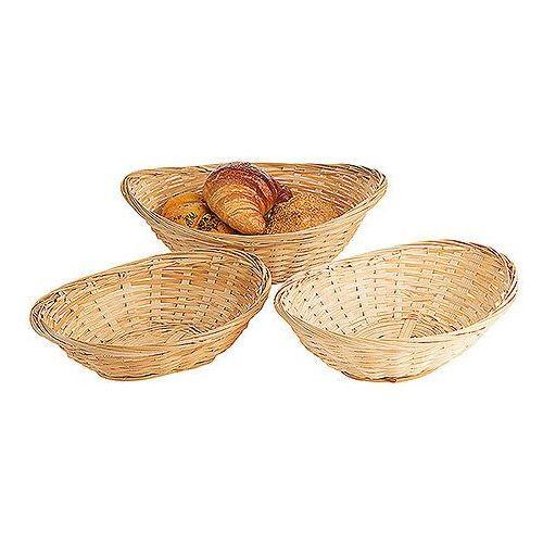 Koszyk do pieczywa, owalny 160 x 120 x 60 mm | CONTACTO, 4885/160