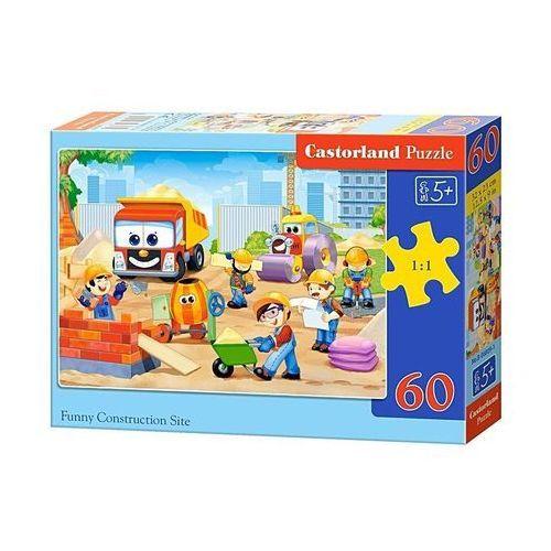 Puzzle 60 elementów Funny Construcion Site, 5904438006809_810162_001