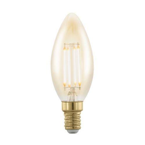 Eglo Żarówka dekoracyjna amber 11698 4w led e14 c37