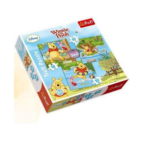 Puzzle mix Kubuś, 20, 36, 50 elementów - Trefl
