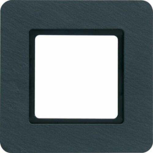 Q.7 ramka 1-krotna do modułu podświetlenia led, łupek 10116130 marki Hager polo sp. z o.o.