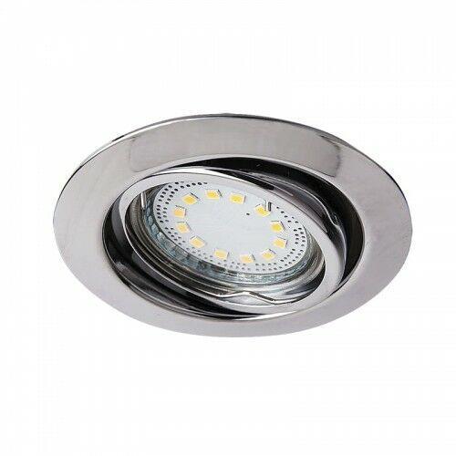 Oczko lampa sufitowa oprawa wpuszczana Rabalux Lite 3X50W GU10 chrom 1050 (5998250310503)