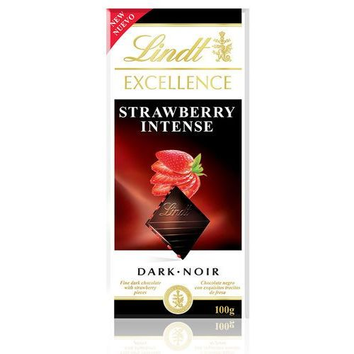 Czekolada Lindt Excellence Strawberry Intense 100g