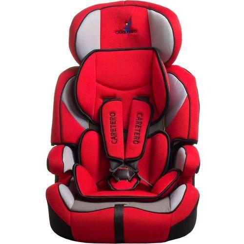 Fotelik samochodowy  falcon czerwony + darmowy transport! marki Caretero