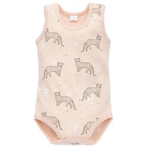 Body w Panterki na Ramiączkach, Sweet Panther Lato / Różowe Pantery, PINOKIO, kolor różowy