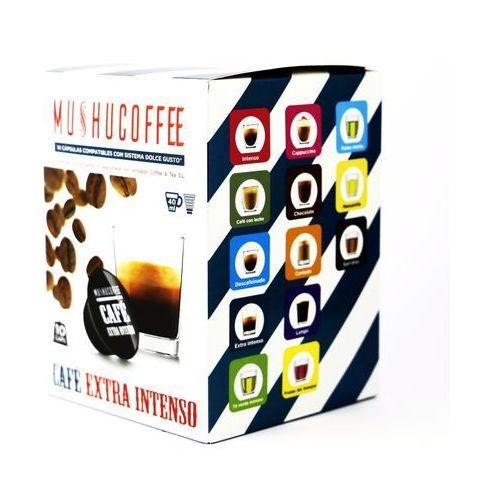 Nespresso kapsułki Cafe extra intenso mushu coffee kapsułki do dolce gusto – 10 kapsułek