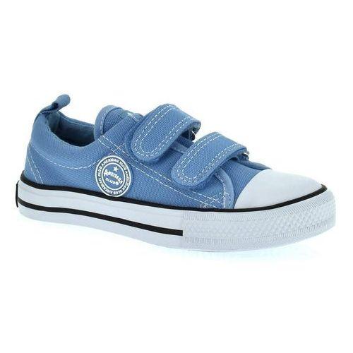 Trampki dziecięce dstc-37/38 - niebieski jasny marki American club