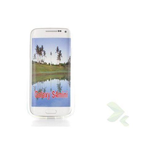 Geffy - Etui Samsung Galaxy S4 Mini TPU przezroczysty