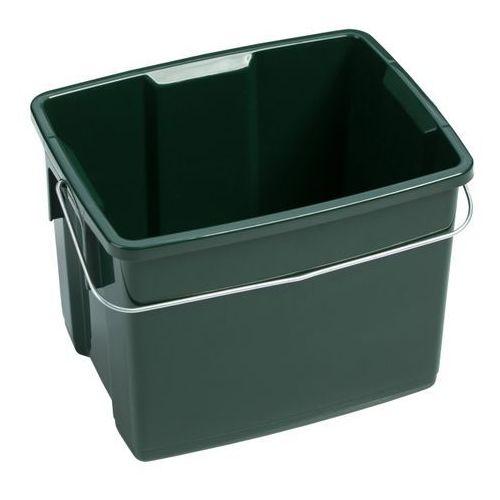 Pojemnik  biobox 6 l zielony marki Curver