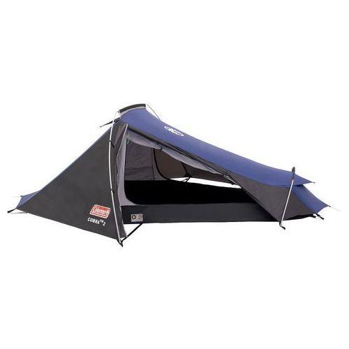 cobra 2 namiot niebieski/czarny namioty iglo wyprodukowany przez Coleman