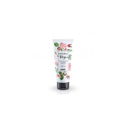 Anwen , odżywka do włosów wysokoporowatych, emolientowa róża, 200ml