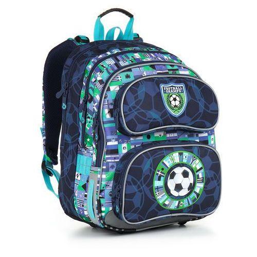 Plecak szkolny  chi 884 d - blue wyprodukowany przez Topgal