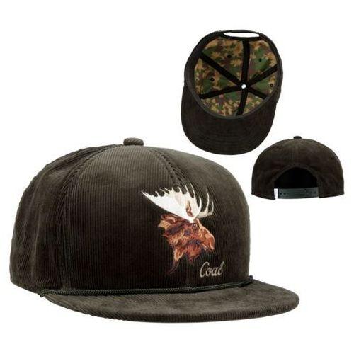 Coal Czapka z daszkiem - the wilderness forest green (moose) (17)
