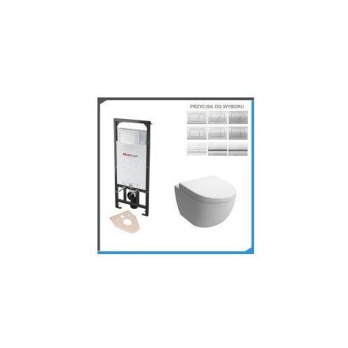 Kompletny zestaw podtynkowy do wc z misą vera rimless marki Zestawy