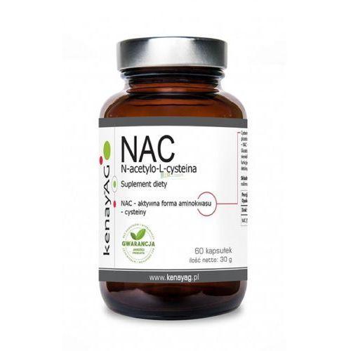 Kapsułki Kenay NAC N-acetylo-L-cysteina - 60 kapsułek