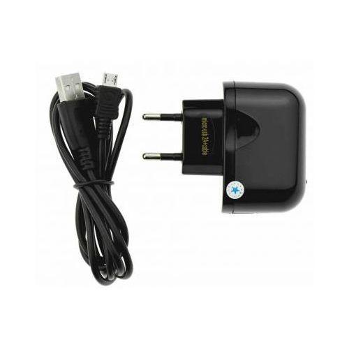 Ładowarka Sieciowa 230v Micro USB 2A Uniwersalna z Odpinanym Kablem