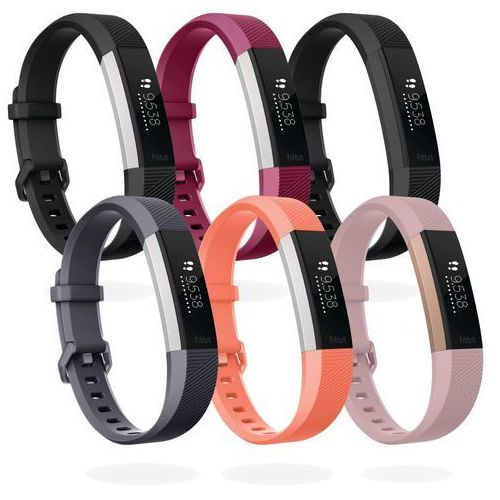 Czujnik aktywności fizycznej  alta hr jasnoróżowy, 22-karatowe złoto różowe marki Fitbit